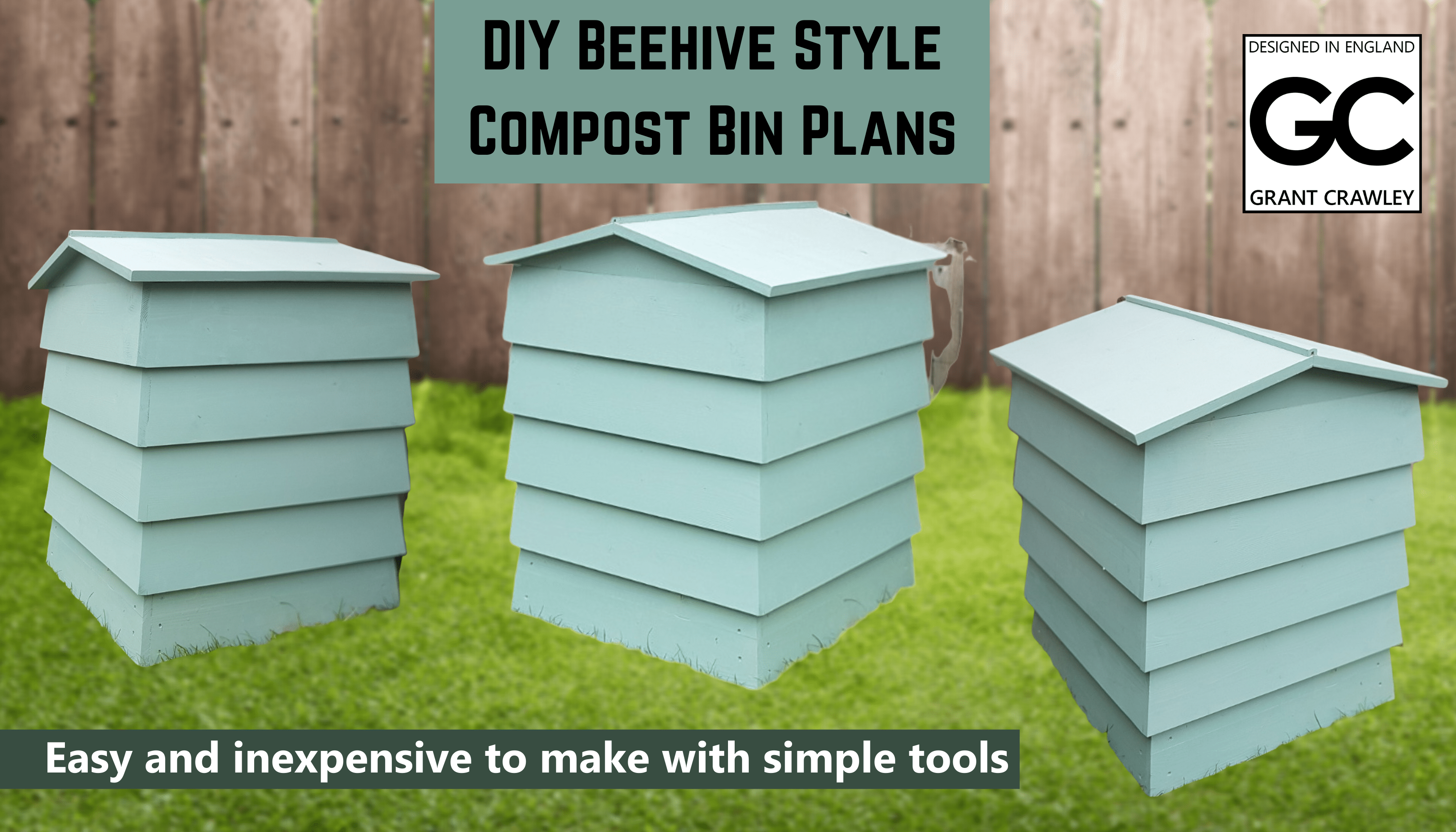 Beehive Style Compost Bin Plans