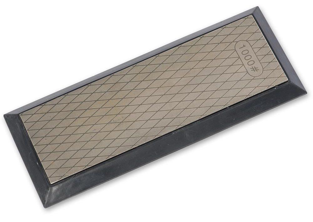 Diamond plate for sharpening edge tools
