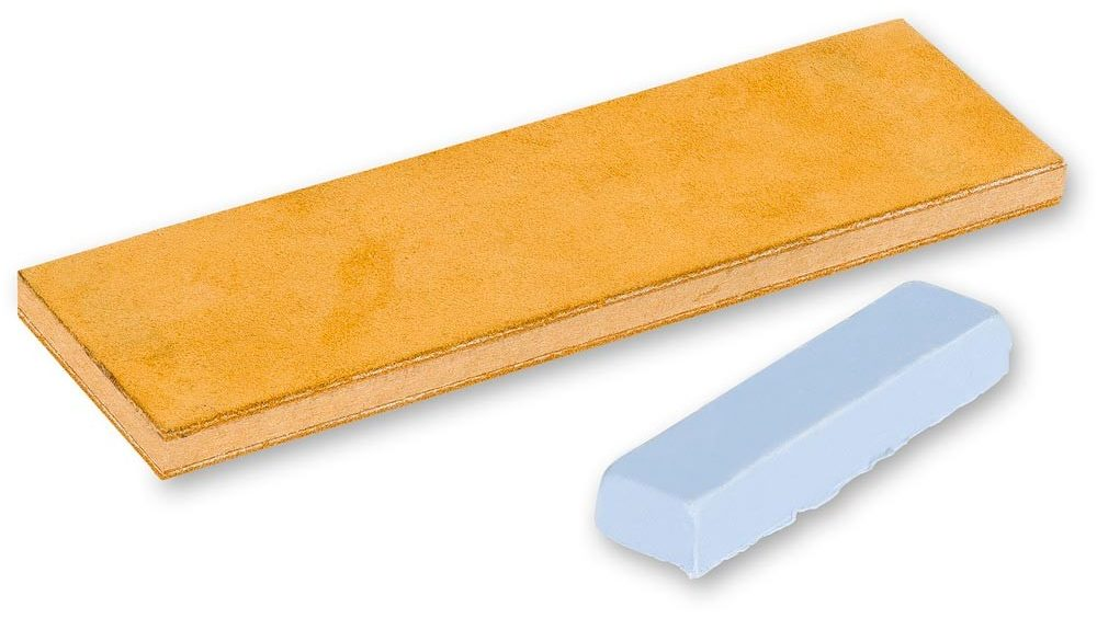 Leather strop for sharpening edge tools