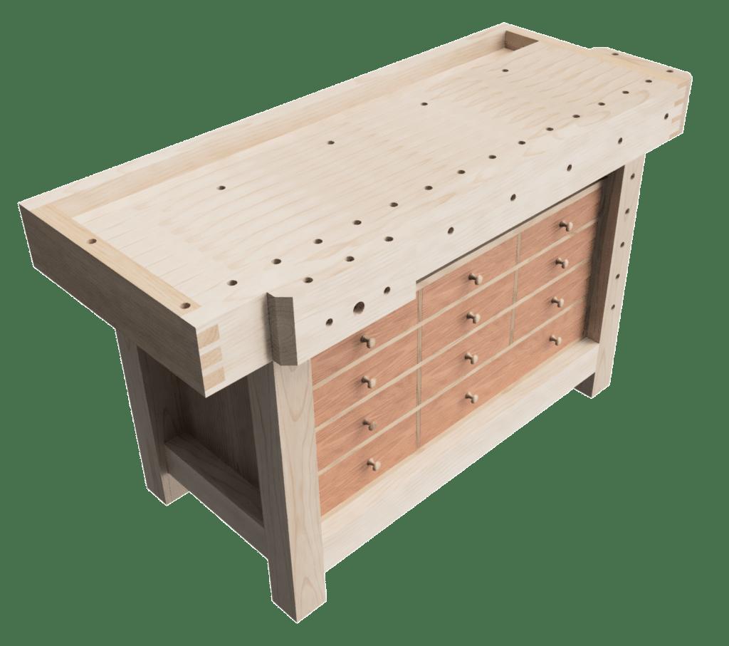 GC Workbench with drawer box v5